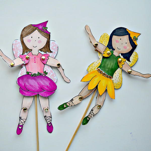 Fab Fairy Free Printable Paper Dolls