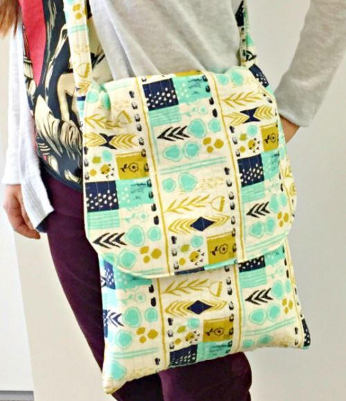 Flip Flap Messenger Bag