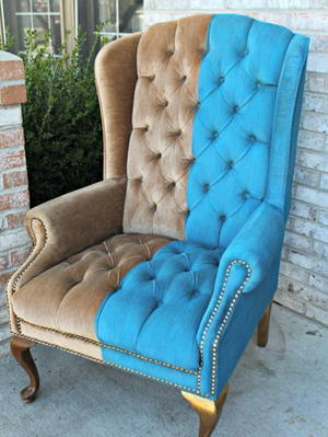 How To Paint Crushed Velvet Upholstery
