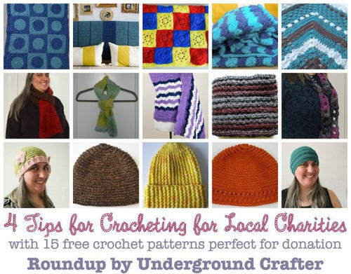 How To Get Started Crocheting or Knitting for Charity