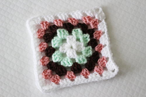 Traditional Granny Square (6in. by 6in.)