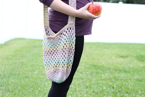 1 Skein Farmer's Market Bag