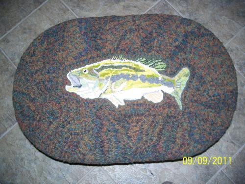 Big Bass Footstool