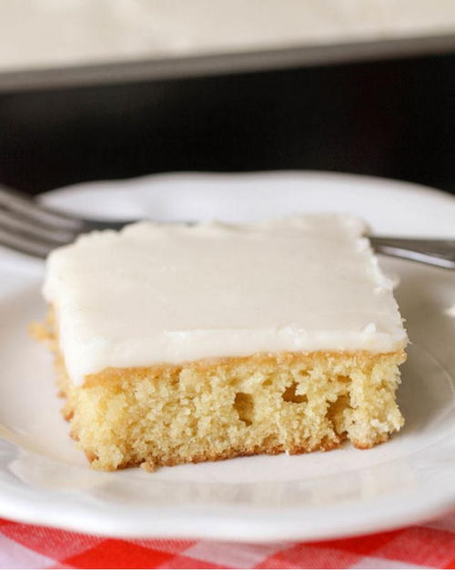Paula Deen-Inspired White Cake Recipe