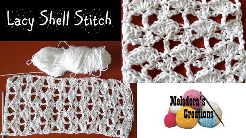 Lacy Crochet Shell Stitch