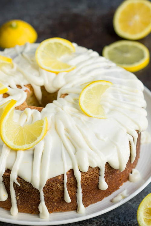 Trisha Yearwood-Inspired Lemon Pound Cake
