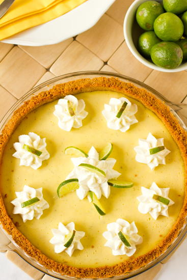 Island Affair Key Lime Pie