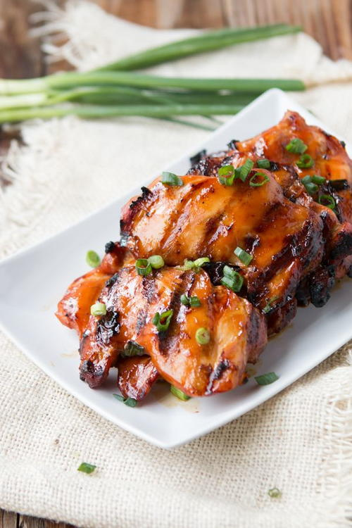 Simple Grilled Hawaiian Chicken