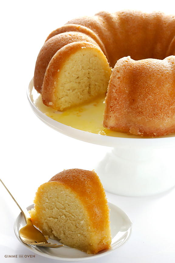 Scratch-Made Southern Rum Cake