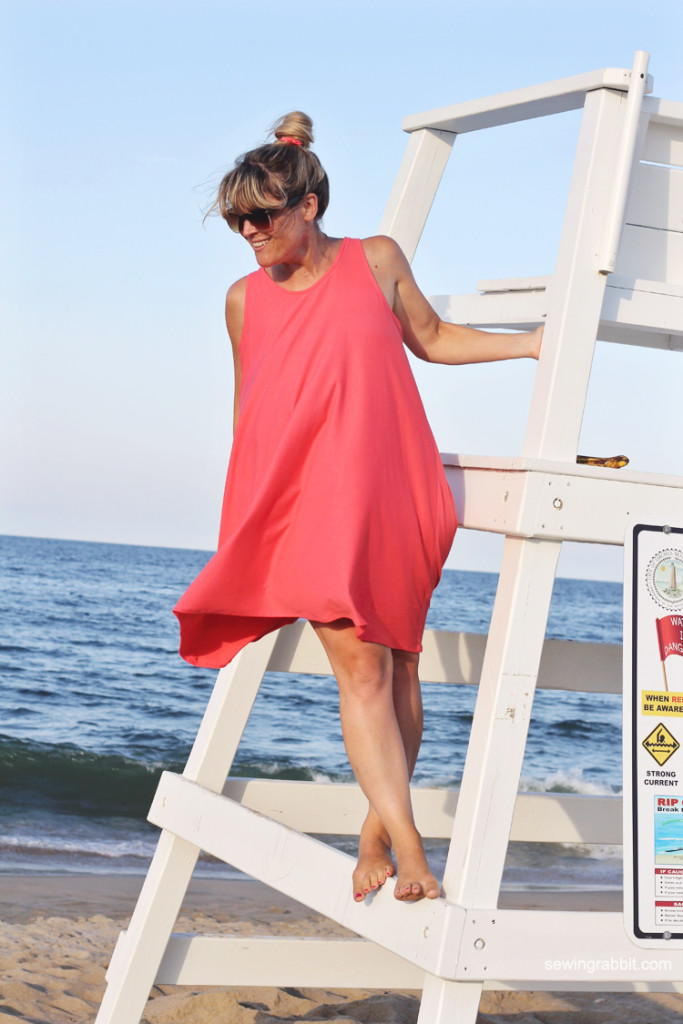 Trapeze DIY Tank Dress AllFreeSewing