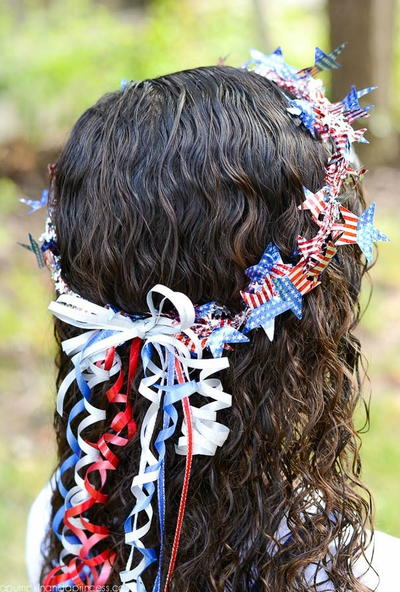 Patriotic Princess Crown