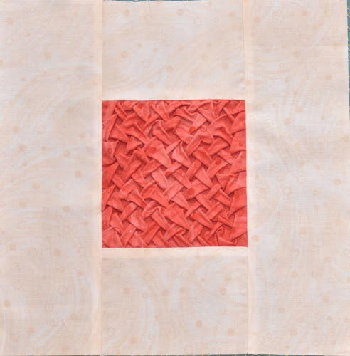 Rose Lattice Quilt Block