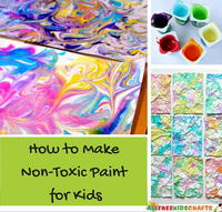 How to Make Non-Toxic Paint for Kids