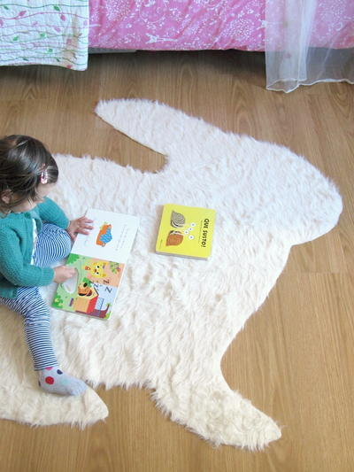 Rabbit DIY Rug