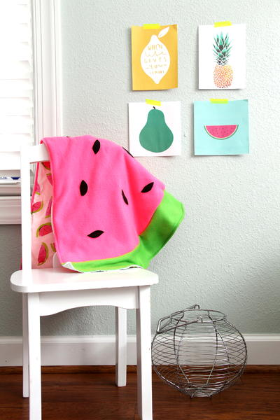 Watermelon Baby Blanket Pattern