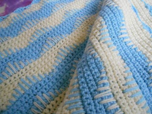 Crochet Zebra Print Baby Blanket Pattern : Beginner Zebra Crochet Baby Blanket ...
