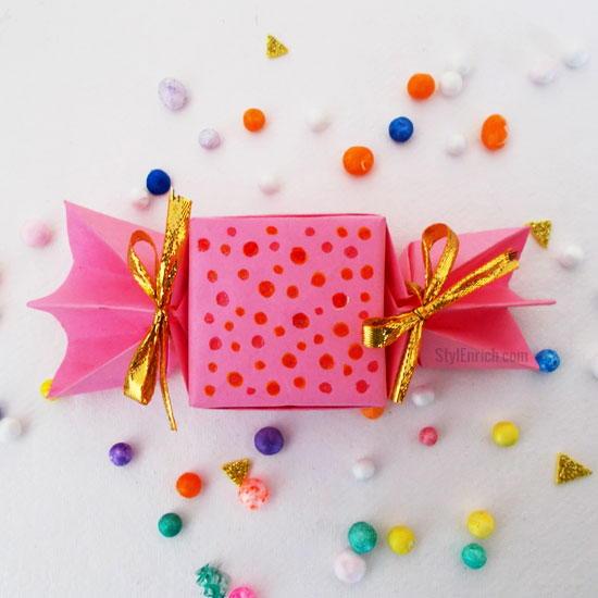 origami candy box allfreekidscraftscom