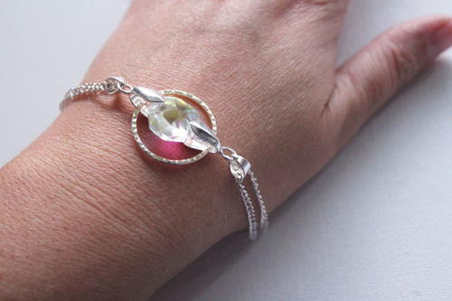 Fairy Circle Crystal Bracelet