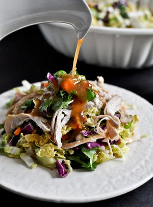 Copycat California Pizza Kitchen Thai Chicken Salad