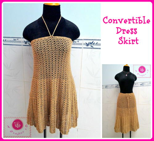 Convertible Dress and Skirt