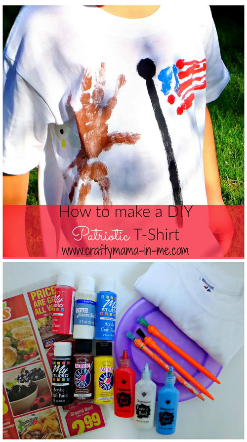 DIY Patriotic Kids T Shirt