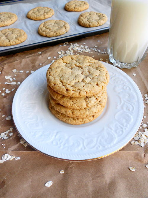Tropical Royalty Oatmeal Coconut Cookies