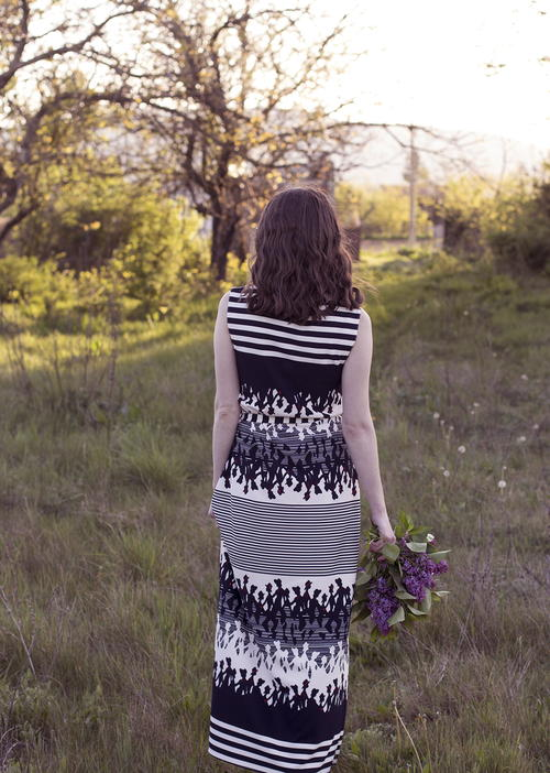T-Shirt DIY Maxi Dress