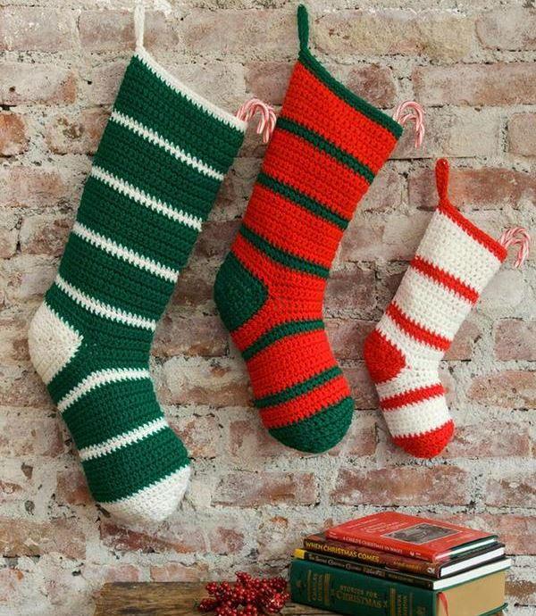 Waiting for Santa DIY Stockings