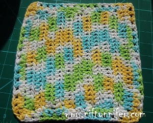 Magical Healing Crochet Dishcloth