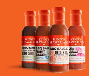 King's Hawaiian BBQ Sauce Bundle