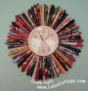 Recycling projects home decor