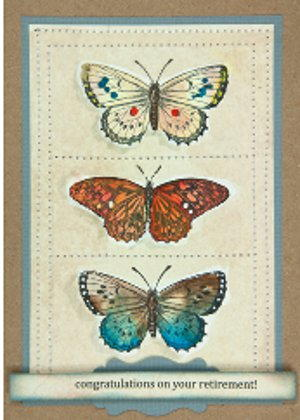 Butterfly Trio Card