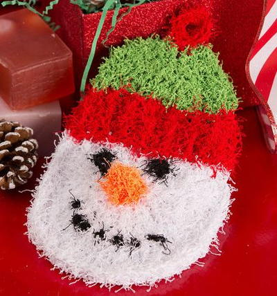 Scrubby Snowman Craft