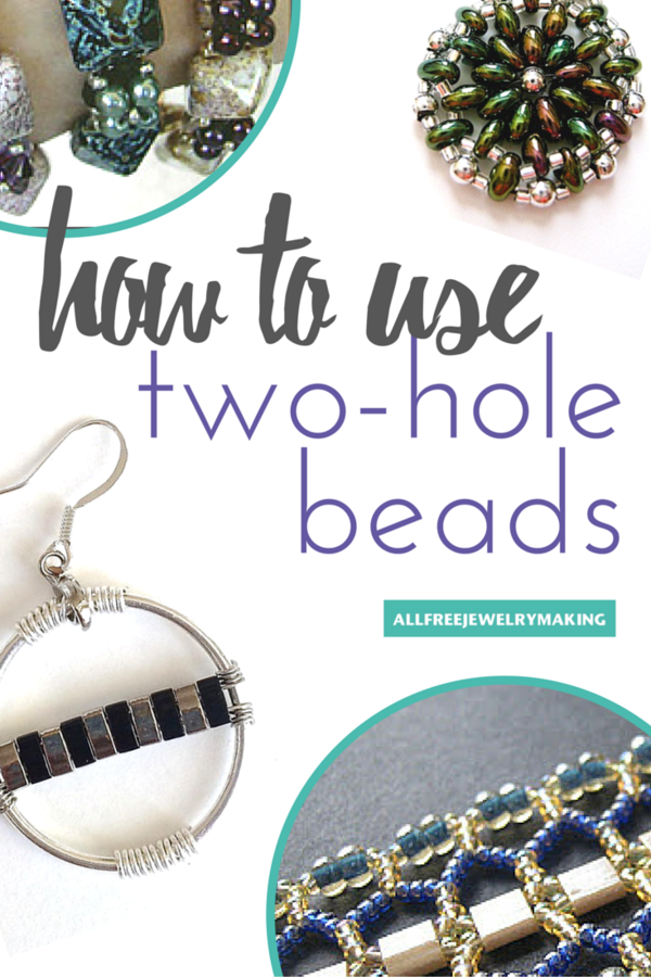 How to Use SuperDuo Beads, Tila Beads, and Other Two-Hole Beads