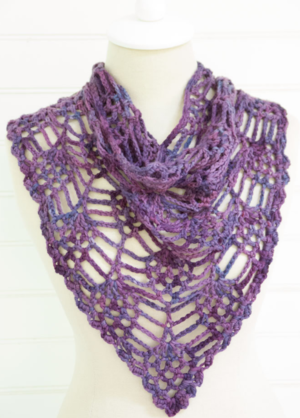 Berry Harvest Crochet Cowl
