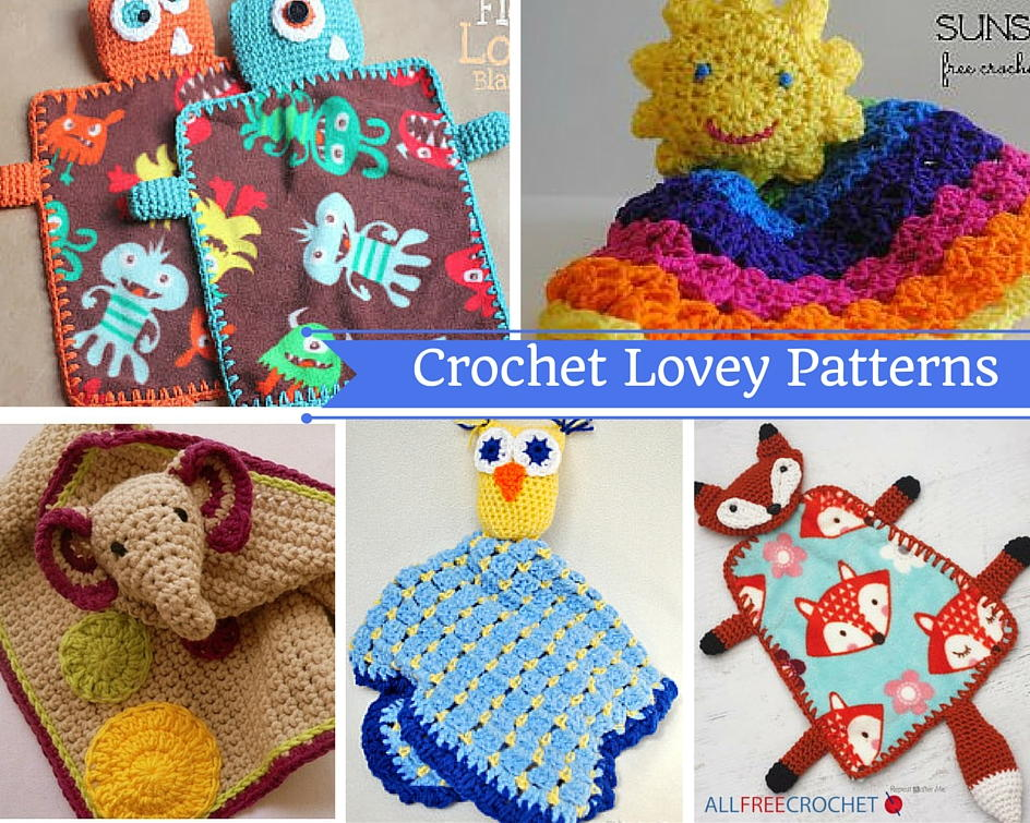 Crochet Lovey Patterns Allfreecrochetafghanpatterns Com