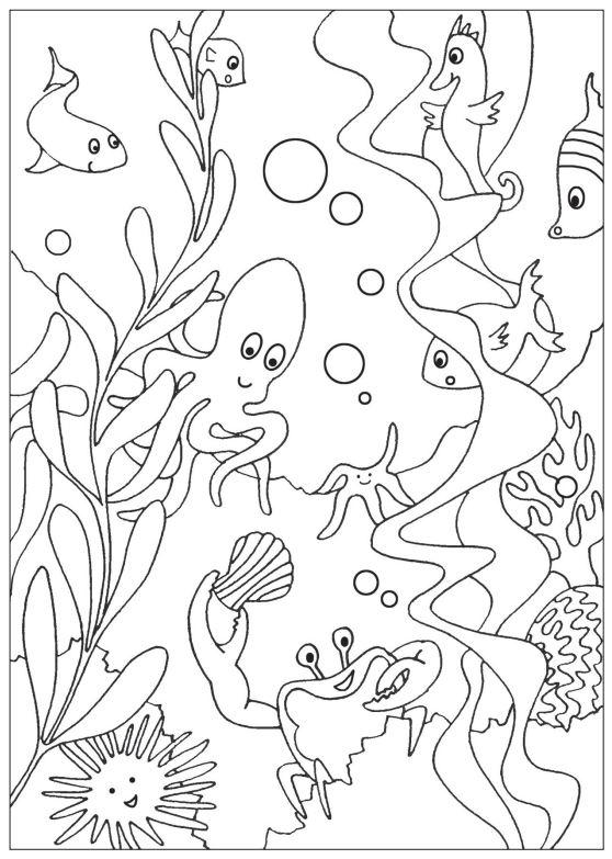 This is a picture of Universal Under the Sea Printables Free