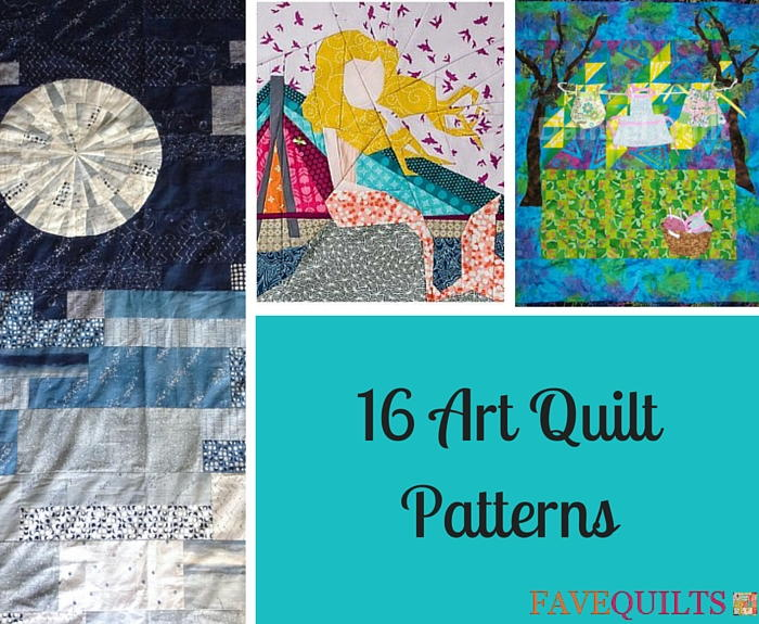 16 Art Quilt Patterns Favequilts Com