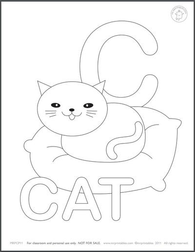 Learn the Alphabet Coloring Pages for Kids