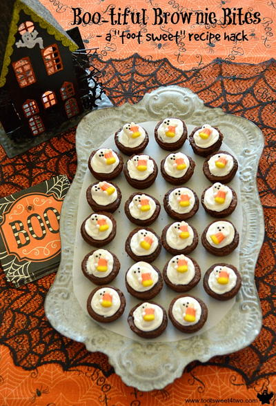Boo-tiful Brownie Bites