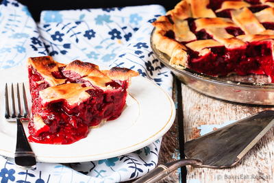 Easy Raspberry Pie