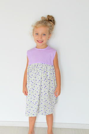 Easy S Gathered Dress Pattern Allfreesewing