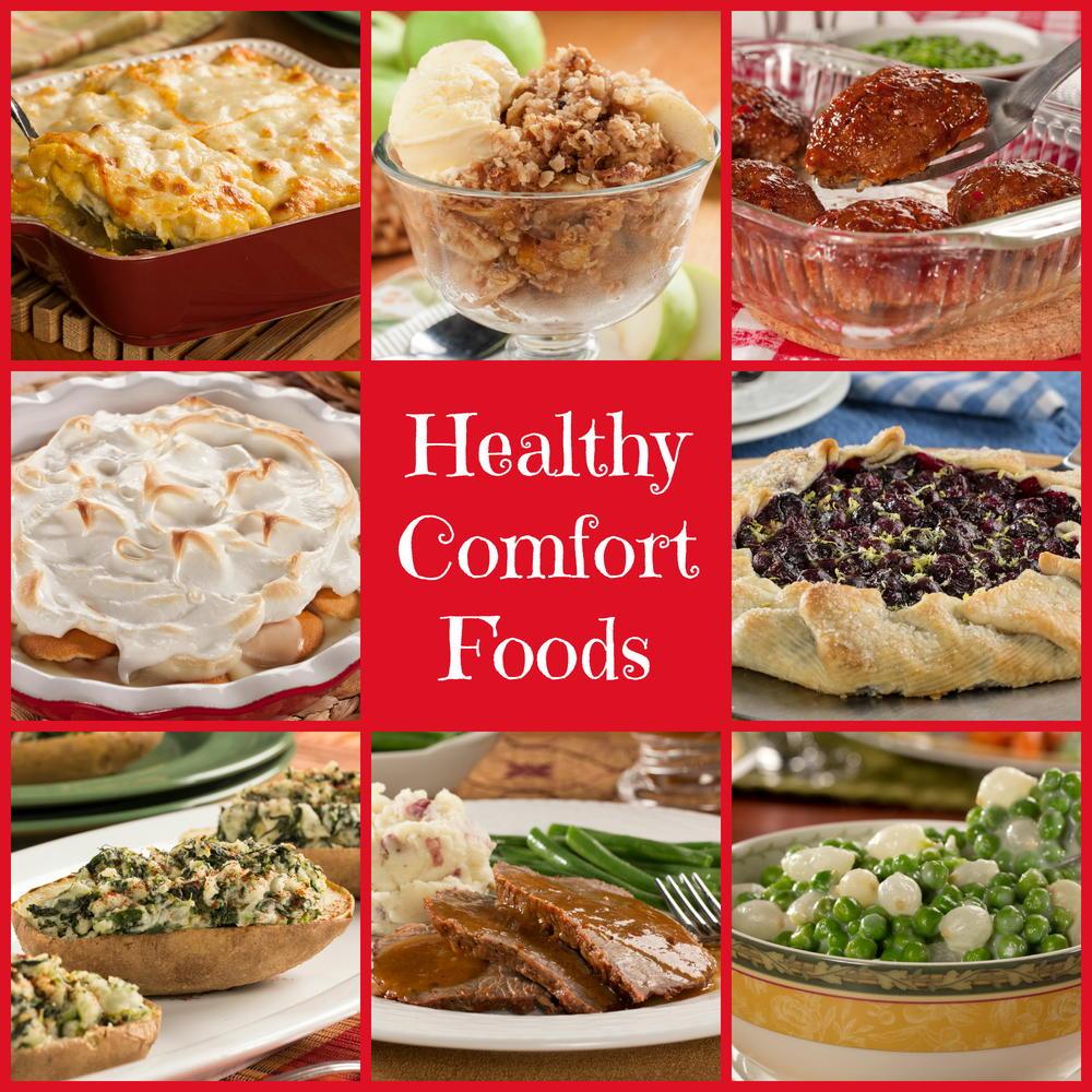 Healthy Comfort Food Recipes, Diet-Friendly Comfort Food