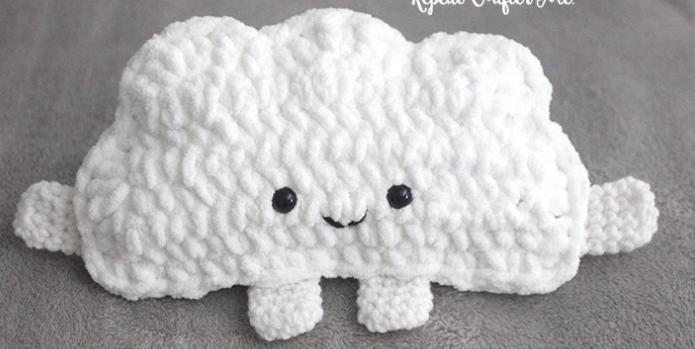 Fluffy Cloud Free Crochet Pattern Allfreecrochet Com