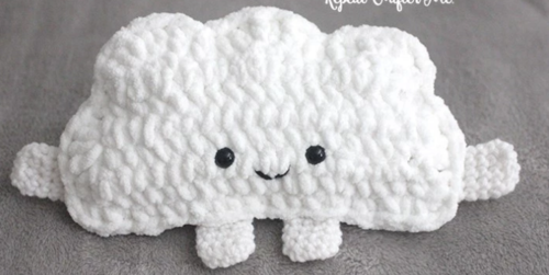 Fluffy Cloud Free Crochet Pattern