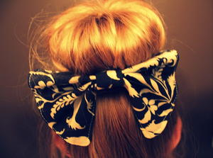Scrapbuster Hair Bow Tutorial