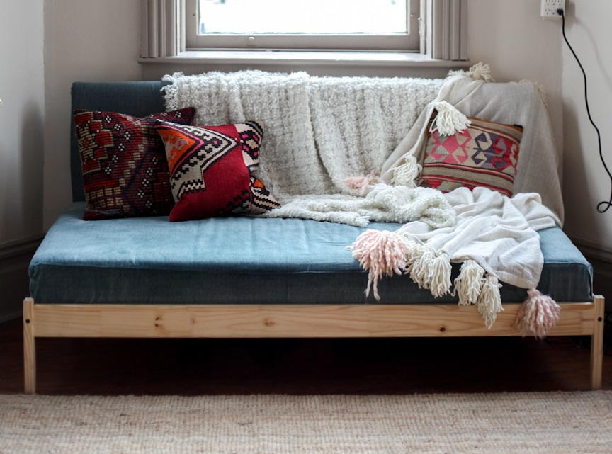 diy couch ikea hack. Black Bedroom Furniture Sets. Home Design Ideas