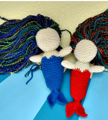 Free Mermaid Crochet Amigurumi
