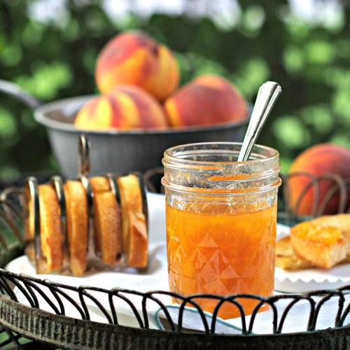 Simple Peach Jam Recipe
