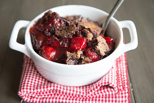 Kings Delight Cherry Chocolate Dump Cake